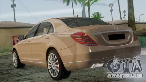 Mercedes-Benz S350 W222 2014 for GTA San Andreas left view