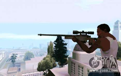 AWP L96 for GTA San Andreas