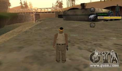 C-HUD TaweR Green for GTA San Andreas