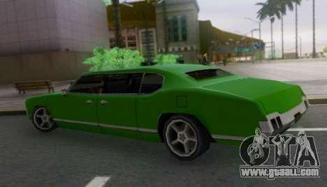 Sabre Limousine for GTA San Andreas left view