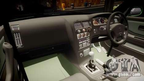 Nissan Skyline BCNR33 JUN VER 1995 v2.0 for GTA 4 inner view