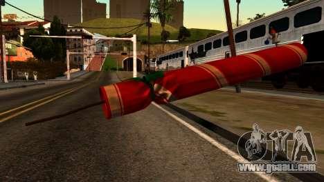 New Year Rifle for GTA San Andreas second screenshot