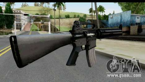 M4A1 from State of Decay for GTA San Andreas second screenshot