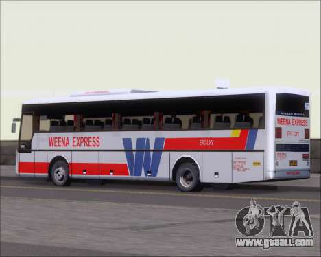 Nissan Diesel UD WEENA EXPRESS ERIC LXV for GTA San Andreas back view