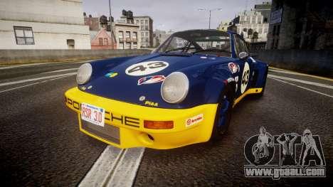 Porsche 911 Carrera RSR 3.0 1974 PJ43 for GTA 4