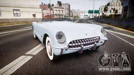 Chevrolet Corvette C1 1953 stock for GTA 4