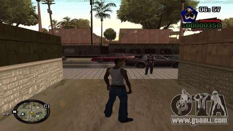 C-HUD by Kidd for GTA San Andreas