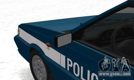 Daewoo-FSO Polonez Kombi 1.6 GSI Police 2000 for GTA San Andreas