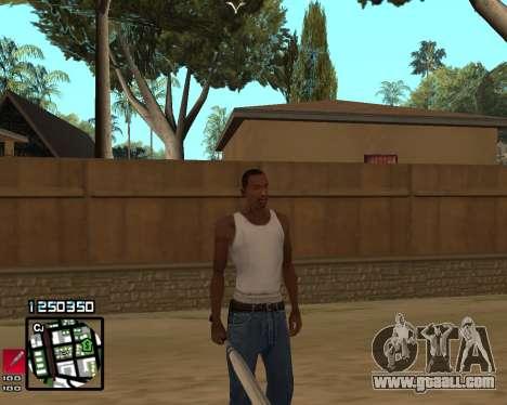 C-HUD Compact for GTA San Andreas