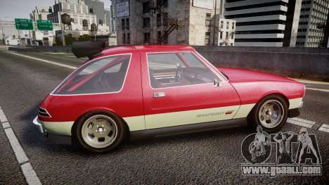 Declasse Rhapsody Camber for GTA 4 left view