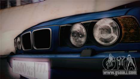 BMW M5 E34 Stance for GTA San Andreas right view