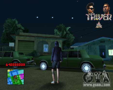C-HUD Tawer By Flocky for GTA San Andreas
