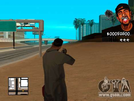 C-HUD WeJack for GTA San Andreas