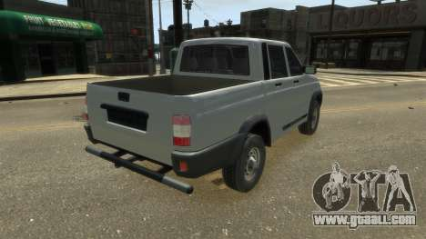 UAZ Patriot Pickup v.2.0 for GTA 4 left view