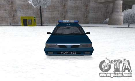 Daewoo-FSO Polonez Kombi 1.6 GSI Police 2000 for GTA San Andreas back view
