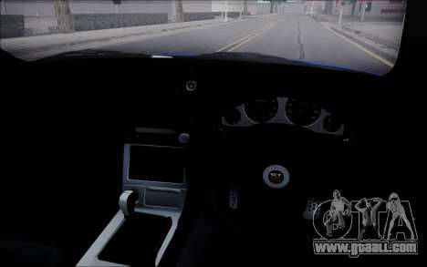 Nissan Skyline GT-R V Spec II 2002 for GTA San Andreas inner view
