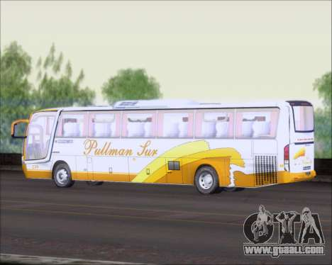 Busscar Vissta Buss LO Pullman Sur for GTA San Andreas back view