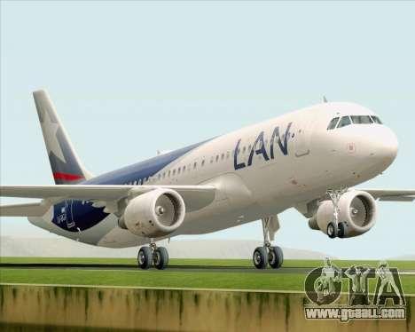 Airbus A320-200 LAN Argentina for GTA San Andreas