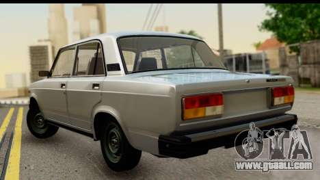 VAZ 2107 Flow for GTA San Andreas left view