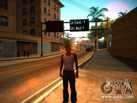 ENB v1.3 for weak PC for GTA San Andreas