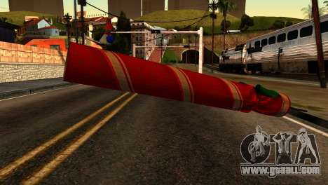 New Year Rifle for GTA San Andreas