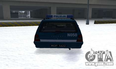 Daewoo-FSO Polonez Kombi 1.6 GSI Police 2000 for GTA San Andreas right view