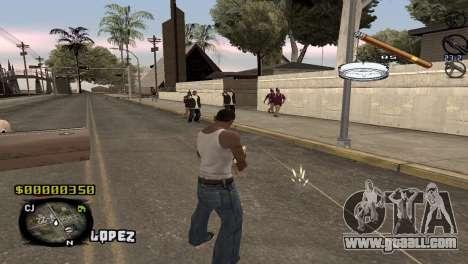C-HUD Sigara for GTA San Andreas