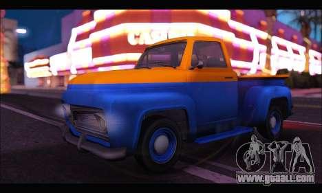 Vapid Slamvan (GTA V) for GTA San Andreas