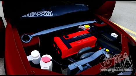 Mitsubishi Eclipce for GTA San Andreas side view
