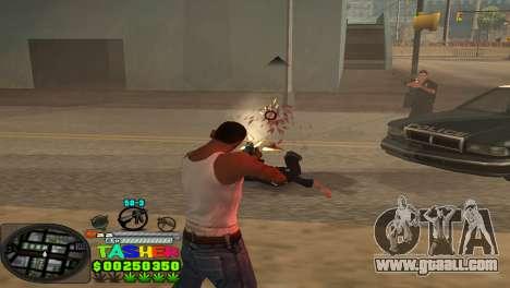 C-HUD Tasher for GTA San Andreas forth screenshot