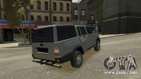 UAZ Patriot Pickup v.2.0 for GTA 4 side view