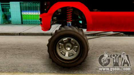 GTA 5 Vapid Sandking XL for GTA San Andreas back left view