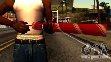 New Year Rifle for GTA San Andreas third screenshot