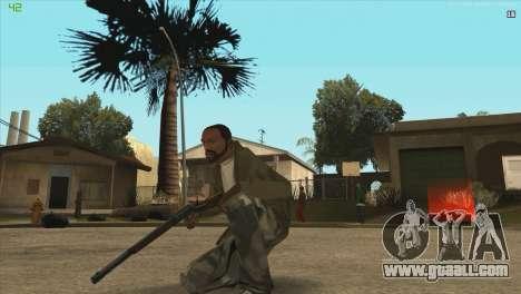 Winchester from Killing Floor for GTA San Andreas third screenshot