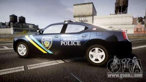 Dodge Charger 2006 Sheriff Bohan [ELS] for GTA 4 left view