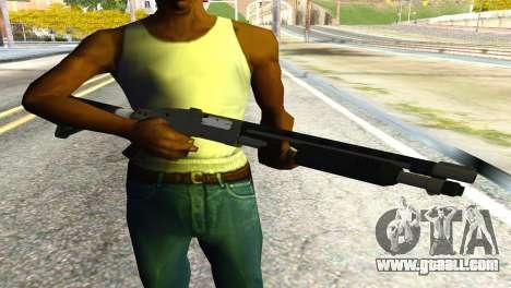 Shotgun from GTA 5 for GTA San Andreas third screenshot