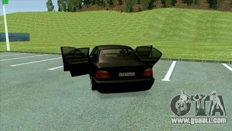 BMW 730i for GTA San Andreas interior