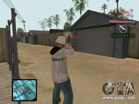 C-Hud Yakuza II for GTA San Andreas forth screenshot