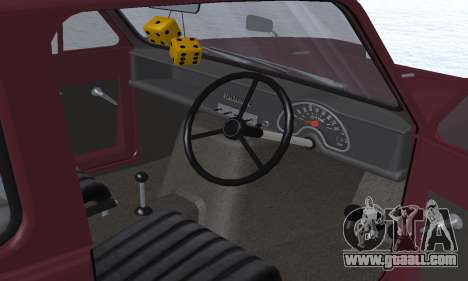 Reliant Regal Sedan for GTA San Andreas engine