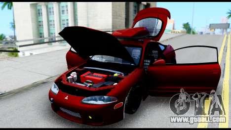 Mitsubishi Eclipce for GTA San Andreas inner view