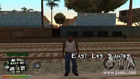 C-HUD Wonderful for GTA San Andreas second screenshot