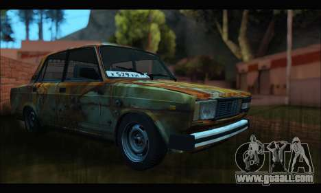 VAZ 2107 Rusty for GTA San Andreas