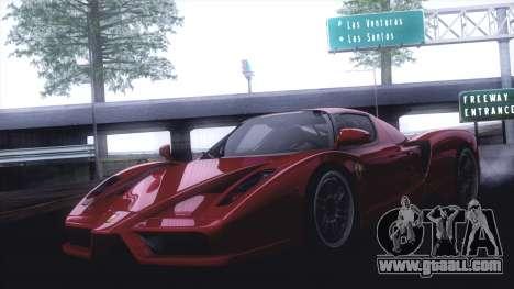 GTA SA ENB - Z.A. Project 2015 for GTA San Andreas seventh screenshot