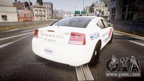 Dodge Charger Metropolitan Police [ELS] for GTA 4