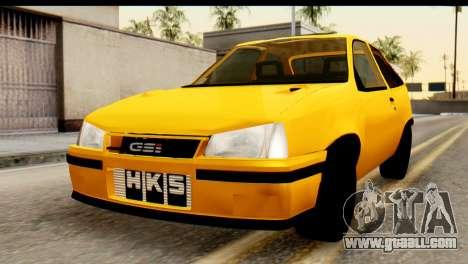 Opel Kadett GSI Drag 2015 for GTA San Andreas