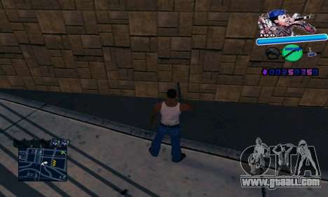 C-HUD Wiz Khalifa for GTA San Andreas
