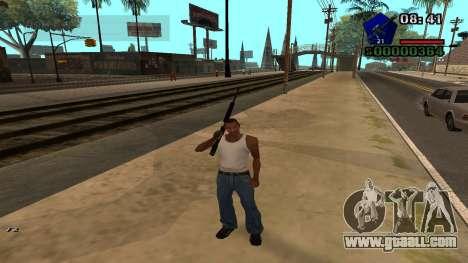 C-HUD by Kidd for GTA San Andreas third screenshot