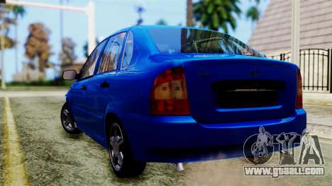 VAZ 1118 for GTA San Andreas left view