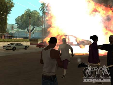 New Realistic Effects 3.0 for GTA San Andreas second screenshot