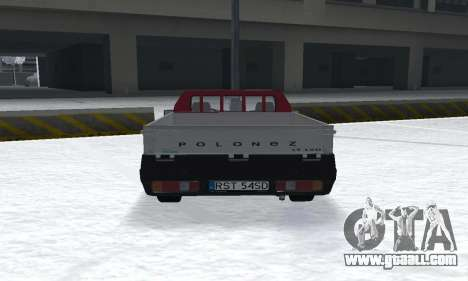 Daewoo FSO Polonez Truck Plus ST 1.9 D 2000 for GTA San Andreas back left view